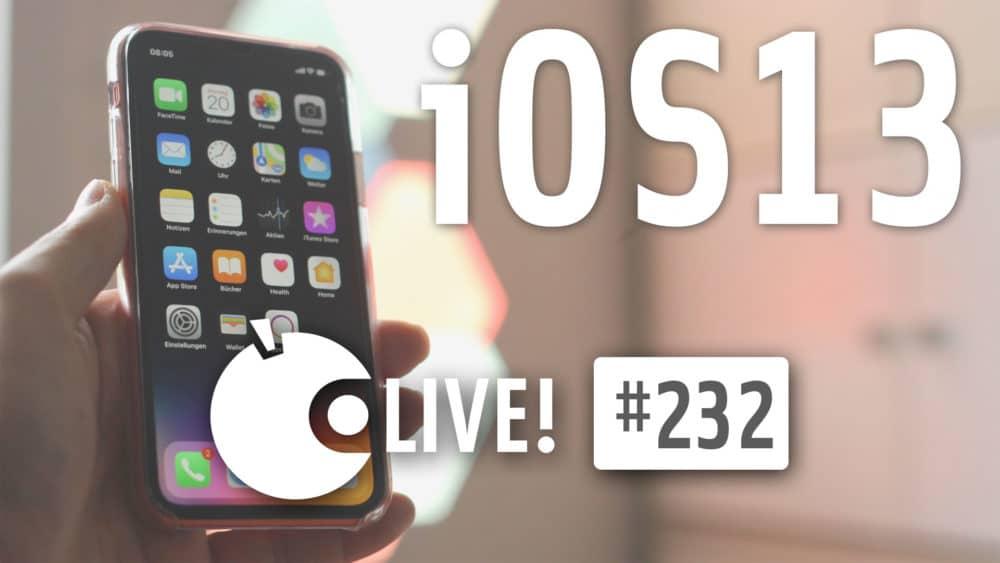 Apfeltalk LIVE! Was bringt iOS 13?